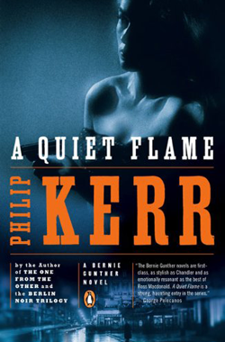 A Quiet Flame Book Cover